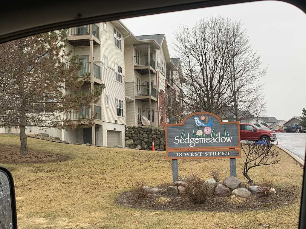 sedgemeadow senior housing residential apartment new roofing install elkhorn wi