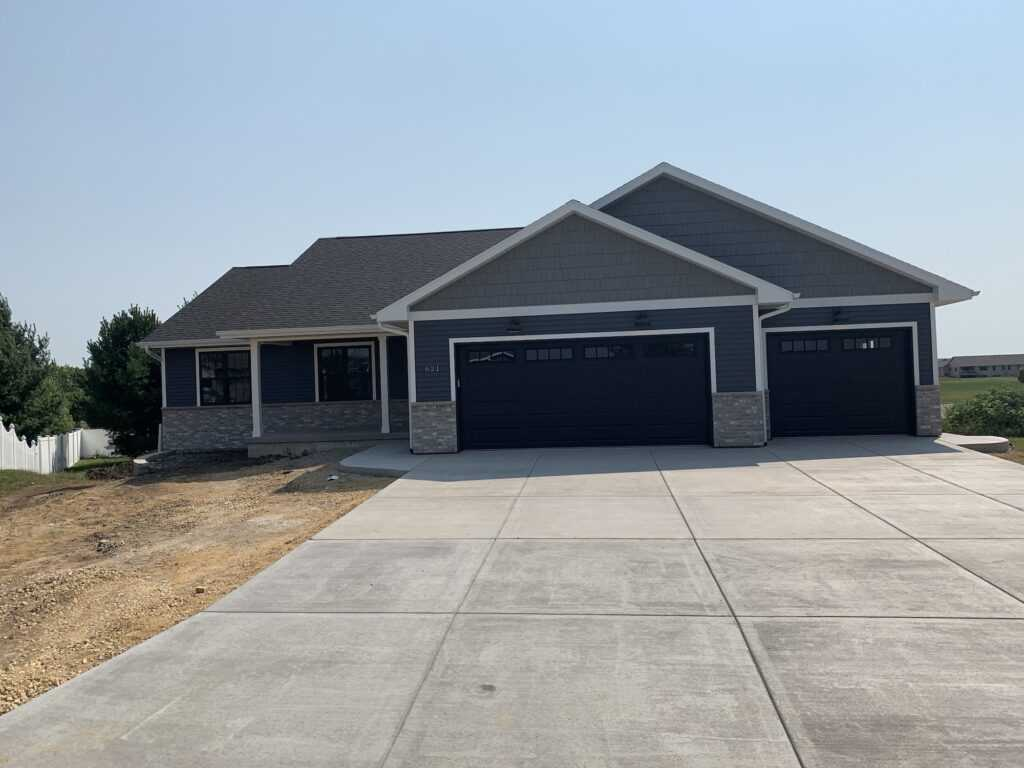 new custom home construction evansville wi