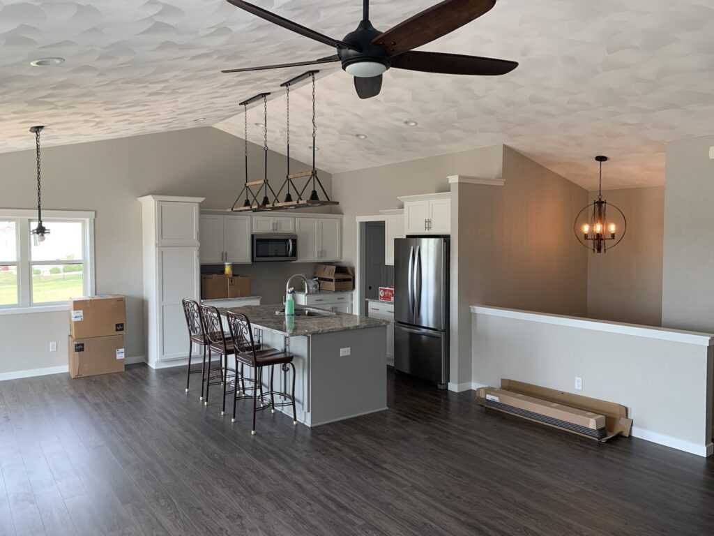 new custom home construction evansville wi 2